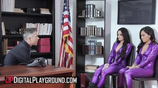 Digital Playground - Violet Babes Punished By Big Cock - Honey Gold, Kissa Sins, Mick Blue - HD 720p