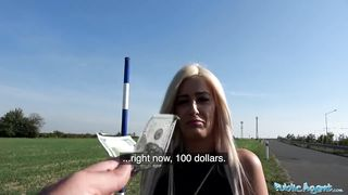 Public Agent - Romanian Sexy Euro Blonde Babe Have Sex For Money - HD 720p