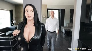 BRAZZERS - Busting on the Burglar - Angela White - HD 720p