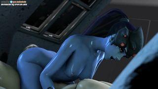 Video Porn GIF SFM Overwatch Widowmaker ANAL HD 720p