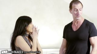 OutOfTheFamily - Asian Step Daughter Fucked By her New Step Father - Lucky Starr, Tony Desergio - HD 720p