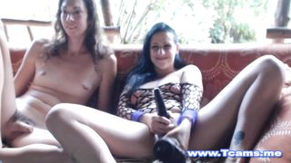 Hot Shemale Fingering her Hot Lesbian GF