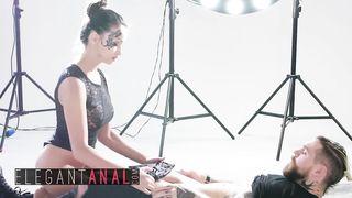 Elegant Anal - Inked Hot Teen Fucks For Anal Creampie - Alyssia Kent, Dean Van Damme - HD 720p