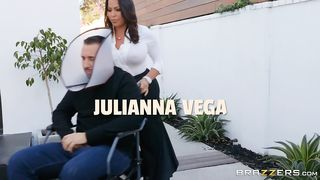Keiran Lee New Brazzers - Cone Of Shamelessness - Julianna Vega, Keiran Lee - SD 480p