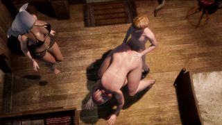 3D Futanari Family Porn - Family Rules 7 [Eng Sub] - HD 720p