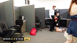 Brazzers - USA Campus Security XXX - Erik Everhard, JAYDEN JAMES -  HD 720p