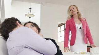 BRAZZERS - Mom Stole My Boyfriend 2019 - Nina Hartley, Robby Echo - HD trailer