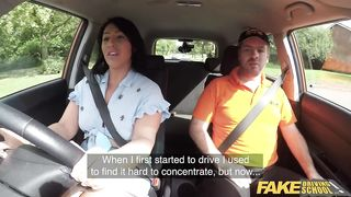 Fake Driving School 2019 - Sexy Big Tits Fuck In The FDS Car - Candi Kayne, Ryan Ryder - HD 720p