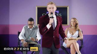 BRAZZERS - Cheating GF Fucks On A TV Show - Danny D, Liza Del Sierra - HD 720p