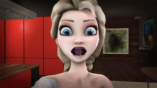 Elsa Swallows  - Shantae SFM Frozen - HD 720p