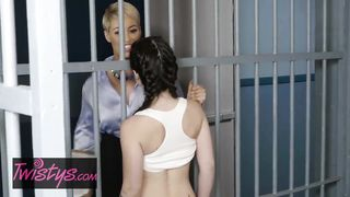 Twistys - Lesbians In The Jail Porn