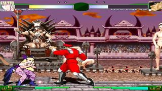 Fighting Sex Game - M.U.G.E.N Engine 1999 - 2D Video Gameplay - HD 720p
