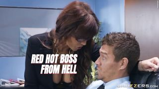 BRAZZERS New Office Porn - Red Hot Boss From Hell 2019 - Syren De Mer, Xander Corvus - Trailer HD