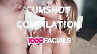 Cumshot Compilation 1000 Facials (2019) - HD 720p
