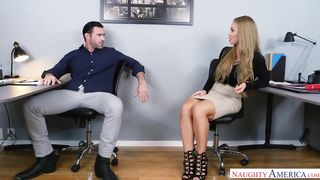 2017 USA American Office Full Video Porn - Charles Dera, Nicole Aniston - HD 720p