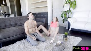 Bratty Sis -  Meditation family porn S8:E7 - Jake Adams, Kyler Quinn - HD 720p