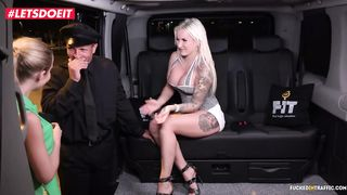 Fake Taxi Czech Edition (3some) - George Uhl, Jarushka Ross and Unknown XXX