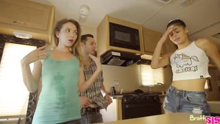 BrattySis - A Family Road Trip Sex - HD 720p