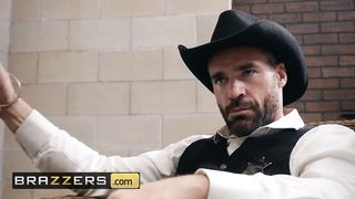 Brazzers - Sheriff And Cowgirl Porn - Charles Dera, Lela Star - HD 720p