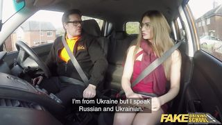 Fake Hub - Fake Driving School - Ryan Ryder Fucks Sexy Ukrainian Teacher - HD 720p