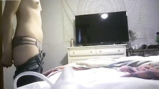 Sister on hidden cam via xhamster.com