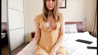 scarlet23xxx chartube excited milf fingering on bed - visit osirisporn.com to watch more videos