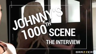 Brazzers Interviews 2018: Johnny Sins (1000th SCENE!) - HD 720p