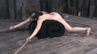 Marina Ass Hook Clamps  Bondage Sex P1 (More on TeenPornMaster)