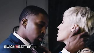 Black Is Better - Romantic Interracial Sex Video On Valentines Day - Isiah Maxwell, Ryan Keely - HD 720p