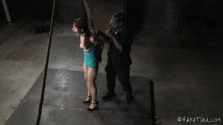 Violet RedHead Interracial FrogTied Bondage Anal Fuck P1 (More on TeenPornMaster)