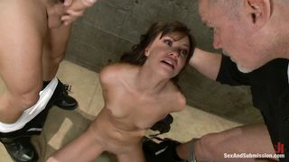 Alysa Anal Fisting Hook Bondage DP Sex P1 (More on TeenPornMaster)