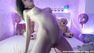 Super Solo woman squirting and fuck her ass ID:19520