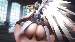 3D anal sex clips compilation