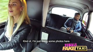 Female Fake Taxi - Nathaly Cherie - HD