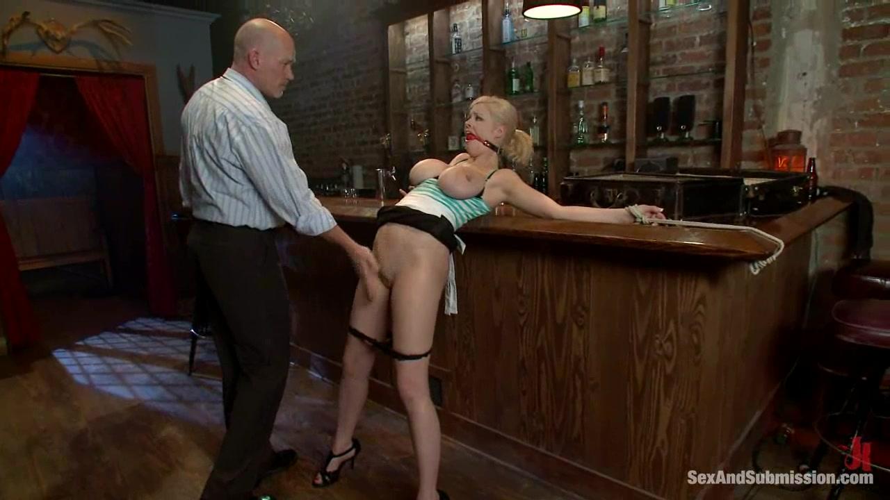Waitress Big Tits Bondage