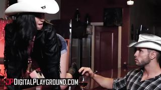 Digital Playground - Cowgirl And Cowboy Sex Tape - Jasmine Vega - HD