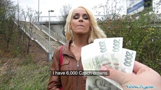 Public Agent - German Blonde Fucks For Cash In Prague - Sophie Logan - HD 720p