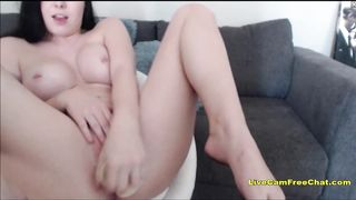 18 Years Old PAWG Wet Pussy Play