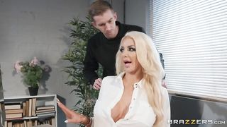 Massaged On The Job (2019) - Nicolette Shea, Danny D
