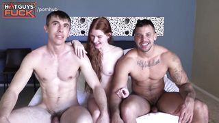 2 boys 1 girl bisex sex video