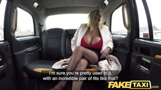 Big Tits British MILF Fucked By Taxi Driver