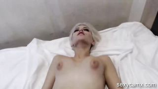 Hot young blond with perky tits pounded hard live at sexycamx