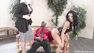 IR BBC Threesome 3x - Kiki Minaj, Krystal Niles
