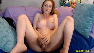 Nice Babe Next Door Play Her Incredibly Aroused Pussy