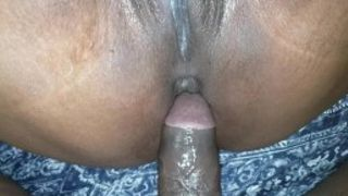 He bussed a nut in my juicy wet ass