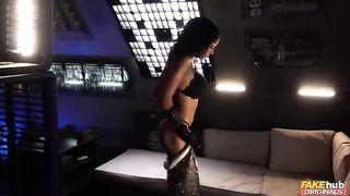 Sex XXX porn parody - Ava Austen, Azura Alii