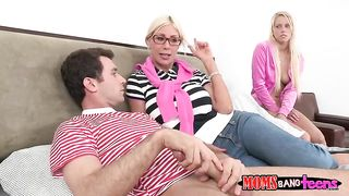 Mother teach sex threesome - Puma Swede, Vanessa Cage