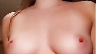 Horny amateur couple making a POV sextape more at sexycamx