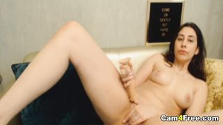 Sexy Hot Teen Fucking Her Pussy With Toy