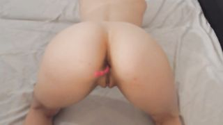Hot Chick in a POV Style Blowjob